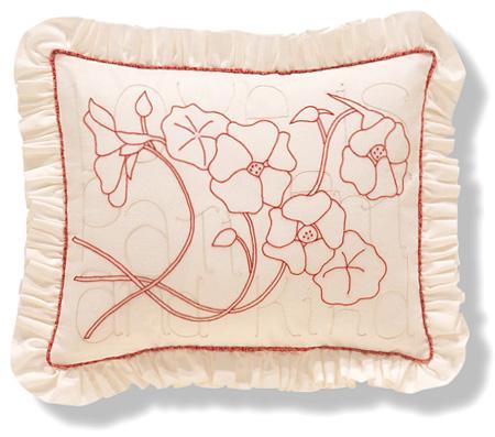 New Website Debut Free Redwork Pattern Alex Anderson Quilts